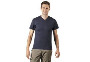 basic v-neck gents t-shirt